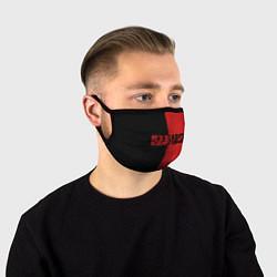 Маска для лица RDD 2: Black & Red цвета 3D-принт — фото 1