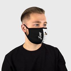 Лицевая защитная маска с принтом Dzhizus, цвет: 3D, артикул: 10201588105881 — фото 1