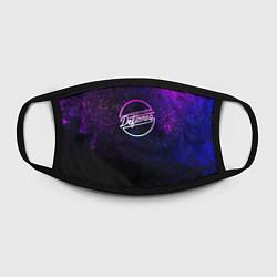 Лицевая защитная маска с принтом Deftones Neon logo, цвет: 3D, артикул: 10210615105881 — фото 2