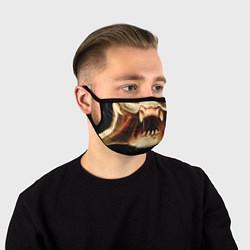 Маска для лица Predator цвета 3D-принт — фото 1