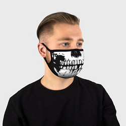 Маска для лица SKULL MASK цвета 3D-принт — фото 1