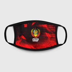 Маска для лица СССР цвета 3D — фото 2