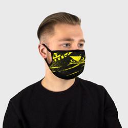 Маска для лица Bad Boy цвета 3D-принт — фото 1