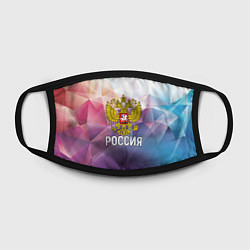 Маска для лица РОССИЯ цвета 3D-принт — фото 2
