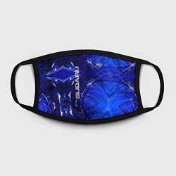 Маска для лица Subaru цвета 3D — фото 2