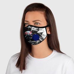 Неопреновая маска с клапаном с принтом ВЕДЬМАК, цвет: 3D-синий, артикул: 10217340705999 — фото 1