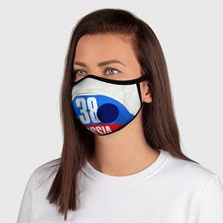 Маска с клапаном Russia: from 38 цвета 3D-синий — фото 1