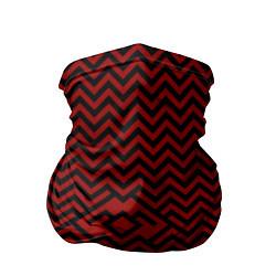 Бандана-труба Твин Пикс: Минимализм цвета 3D-принт — фото 1