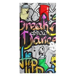 Бандана-труба Break Show Dance цвета 3D-принт — фото 2