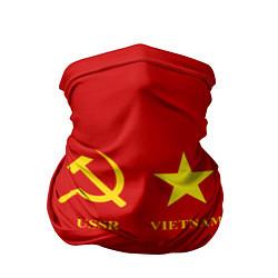 Бандана-труба с принтом СССР и Вьетнам, цвет: 3D, артикул: 10136223105527 — фото 1
