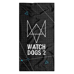 Бандана-труба Watch Dogs 2: Tech Geometry цвета 3D-принт — фото 2