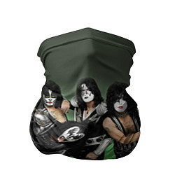 Бандана-труба Kiss цвета 3D-принт — фото 1
