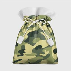 Мешок для подарков Камуфляж: зеленый/хаки цвета 3D — фото 1