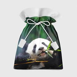 Мешок для подарков Панда на ветке цвета 3D — фото 1