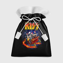 Мешок для подарков Merry KISSmas! цвета 3D — фото 1