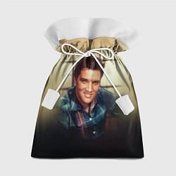 Мешок для подарков Элвис Пресли цвета 3D-принт — фото 1