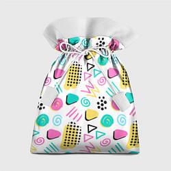 Мешок для подарков Поп-арт цвета 3D — фото 1