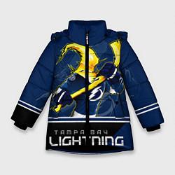 Куртка зимняя для девочки Bay Lightning цвета 3D-черный — фото 1