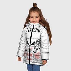 Куртка зимняя для девочки Placebo цвета 3D-черный — фото 2