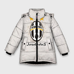 Куртка зимняя для девочки Juventus3 цвета 3D-черный — фото 1