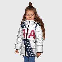Куртка зимняя для девочки Tottenham Hotspur: AIA цвета 3D-черный — фото 2