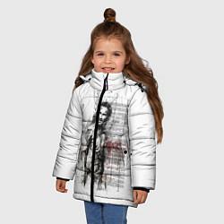 Куртка зимняя для девочки Rick Grimes цвета 3D-черный — фото 2