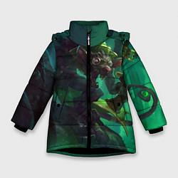 Куртка зимняя для девочки Twitch цвета 3D-черный — фото 1