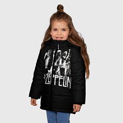 Куртка зимняя для девочки Led Zeppelin: Mono - фото 2