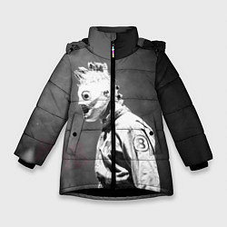 Куртка зимняя для девочки Кори Тейлор цвета 3D-черный — фото 1