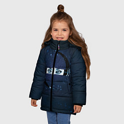 Куртка зимняя для девочки Evanescence Eyes цвета 3D-черный — фото 2