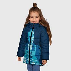 Куртка зимняя для девочки G-Man: Rise & Shine цвета 3D-черный — фото 2