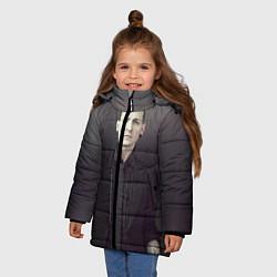 Куртка зимняя для девочки Честер Беннингтон цвета 3D-черный — фото 2