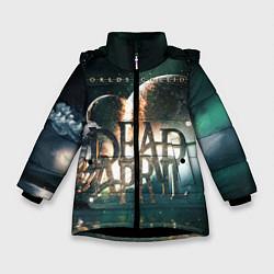 Куртка зимняя для девочки Dead by April: Worlds Collide цвета 3D-черный — фото 1