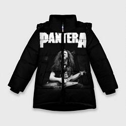 Куртка зимняя для девочки Pantera цвета 3D-черный — фото 1