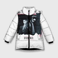 Куртка зимняя для девочки Ariana Grande: Everyday цвета 3D-черный — фото 1