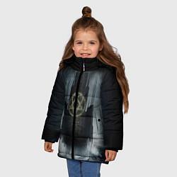 Куртка зимняя для девочки HIM: Devil Castle - фото 2