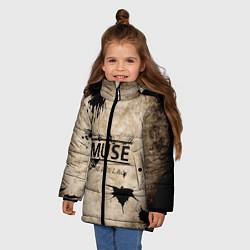 Куртка зимняя для девочки Muse: the 2nd law - фото 2