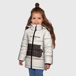 Куртка зимняя для девочки The Cranberries: Zombie цвета 3D-черный — фото 2