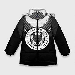 Куртка зимняя для девочки FC Leicester City: Black Style цвета 3D-черный — фото 1