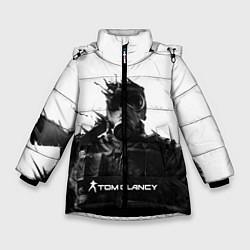 Куртка зимняя для девочки Tom Clancys Soldier цвета 3D-черный — фото 1