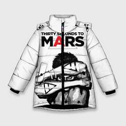Куртка зимняя для девочки 30 STM: Jared Leto цвета 3D-черный — фото 1