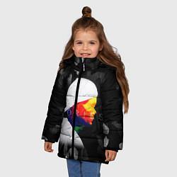 Куртка зимняя для девочки Avicii: Stories цвета 3D-черный — фото 2