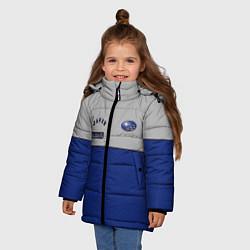 Куртка зимняя для девочки Subaru Style цвета 3D-черный — фото 2