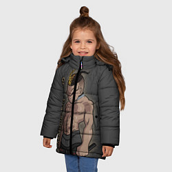Куртка зимняя для девочки RIP Legend: XXXTentacion цвета 3D-черный — фото 2