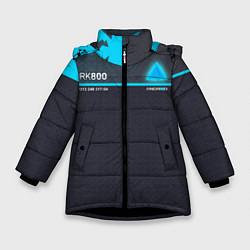 Куртка зимняя для девочки Detroit: RK800 цвета 3D-черный — фото 1