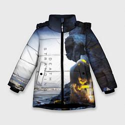 Куртка зимняя для девочки Death Stranding: Exclusive цвета 3D-черный — фото 1