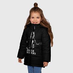 Куртка зимняя для девочки Roger Waters цвета 3D-черный — фото 2
