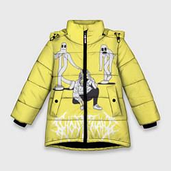 Куртка зимняя для девочки Ghostemane Mercury цвета 3D-черный — фото 1