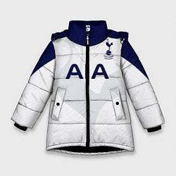 Куртка зимняя для девочки ФК Тоттенхэм цвета 3D-черный — фото 1