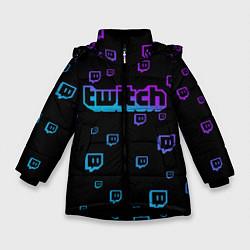 Куртка зимняя для девочки Twitch: Neon Style - фото 1